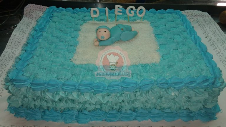 "Torta Baby shower ""Diego"""