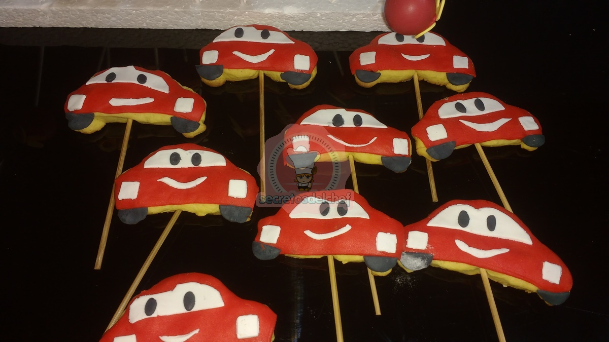 Galletas Cars
